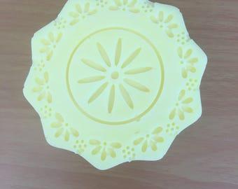Pastel spring soap