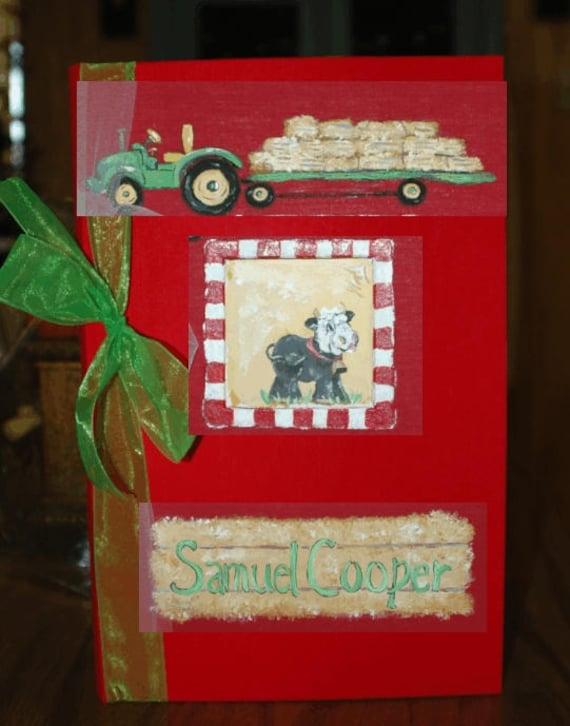 Baby Photo Album | Photo Book | Farmer Photo Book
