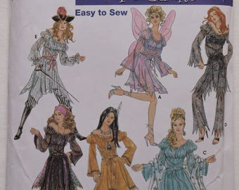 Simplicity 5363 Misses' Costume Pattern with Peasant Style Dress, Pants and Skirt Sizes 6, 8, 10, 12 Elaine Heigl Design