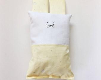 Organic Cotton Baby Toy - Stuffed Animal - Ready To Ship