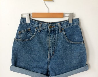 Women's High-Waist Denim Jean Shorts Size 28