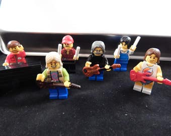 Grateful Dead Gift Jerry Garcia Bob Weir Brent Mydland Bill Mickey LEGO READ DESCRIPTION! Furthur not pin shirt sticker