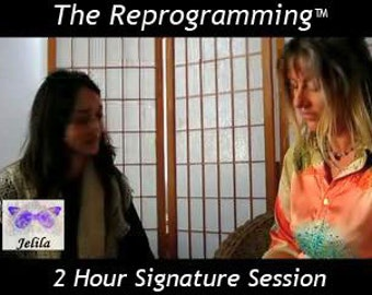 2 Hour Signature Session, Report, of The Reprogramming - Therapy Deep Healing on Stress, etc  -  with Jelila
