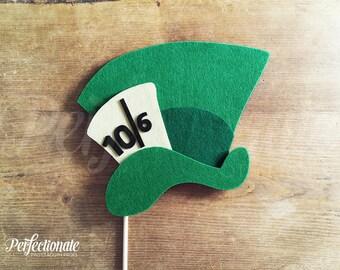 Mad Hatter Top Hat | Wonderland Props | Tea Party Prop | Alice in Wonderland Photo-Booth