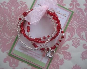 Girls bracelet - valentines day bracelets - girl jewelry