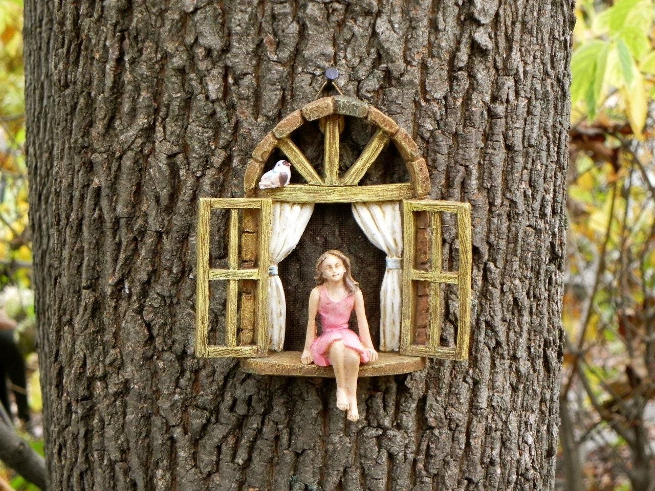Miniatur-Garten-Mädchen keine Flügel Mini Garten Accessoire