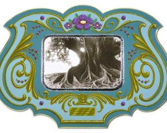 Los Viejos - Poster - Sign painting, fileteado, old tree, flowers