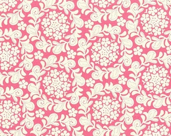 Petit Henna Garden Petal Pink Sandi Henderson Michael Miller Fabric, Choose your cut