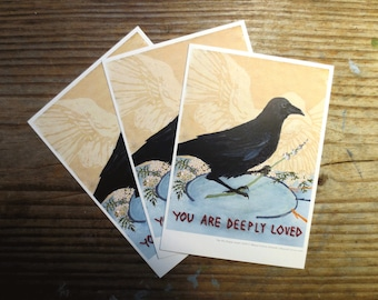 You Are Deeply Loved Postcard