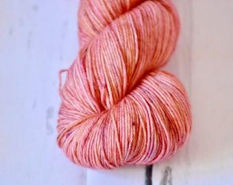 """Hand Dyed Yarn - Fingering weight - """"Sundar"""" Colorway - Hand Dyed Yarn - Socks - Shawl"""