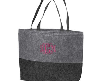 Set of 5 Bridesmaid Tote Bags, Bachelorette Party Tote Bags, Bridal Party Bags, Bachelorette Totes, Bridesmaid Gifts, SM-BG402L