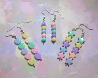Fairy Kei Pastel Earrings