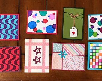 Handmade Cards/Assortment Set of Printed Cards