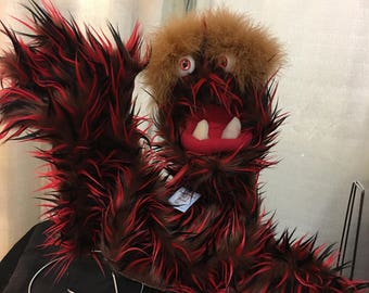 Monster Puppet with Live hands