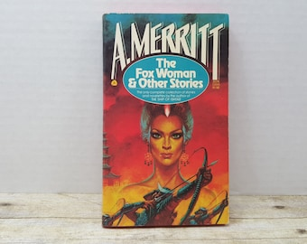 The Fox Woman and Other Stories, 1977, A Merritt, vintage sci fi, science fiction, vintage book