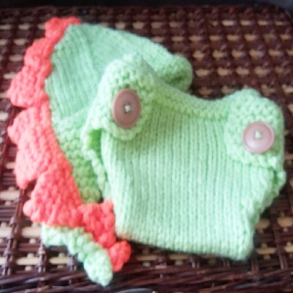 NAPPY COVER Knitting Pattern, Diaper Cover Knitting Pattern ...