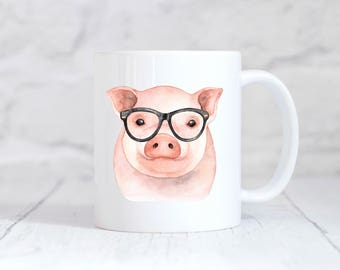 Pig Mug, Pig, Pig Gift, Pig Cup, Pig Coffee Mug, Pig Coffee Cup, Pig Lovers, Pig Lover Gift, Piggy, Pig Gifts, Pig Pet, Gift for Her,Teacher