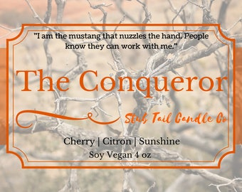 The Conqueror - Soy Scented Candle Inspired by Red Rising