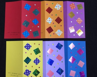 Six Card Pack Squares #2