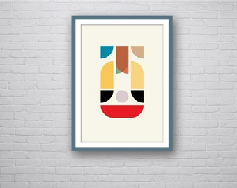 Mother - Abstract Geometric Art