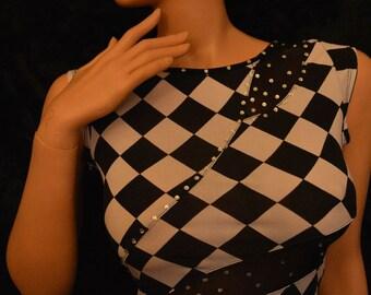 Women evening dress By Laurag-crystals com