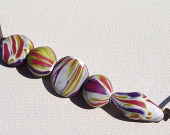 Polymer Clay Perlen/Party