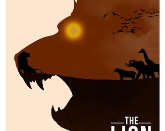 Disney's The Lion King Minimalist Poster