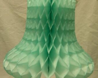 "Honeycomb (Art-Tissue) Wedding Bells - 9"""