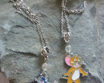 Tom and Jerry Necklaces