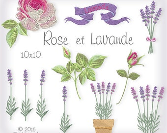 Rose et Lavande