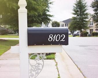 Postfach Nummer Aufkleber, benutzerdefinierte Briefkasten-Aufkleber - 001