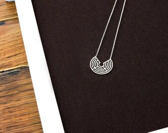 Tiny Labyrinth 270 pendant