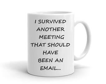 Funny mug, custom mug,coffee cup, Christmas gift, co-worker gift, work, job mug, coffee mug, boss