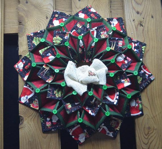 Www Fotoventasdigital Com Diy Burlap Wreath That Folding: Christmas Fold'n Stitch Wreath