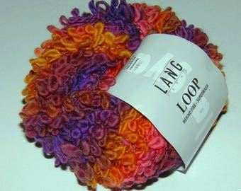 5 balls Merino Loop 060 Lang yarns to choose