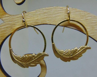 Kate Middleton Inspired Fern Earrings