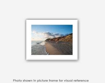 Beach Photography, Martha's Vineyard Aquinnah Gay Head Cliffs, Moshup Beach Photographs, Photos, Art Prints, Ocean Landscape Photo Cards
