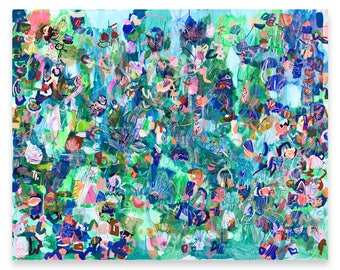 """48"""" x 60"""" paintings"""