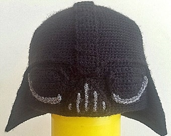 Patron crochet Darth Vader beanie (ESPAÑOL)