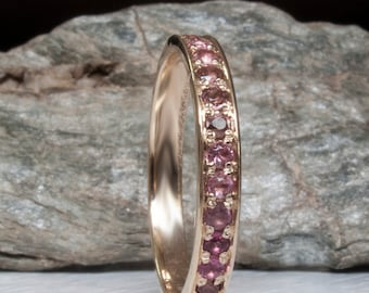 Tourmaline Eternity ring