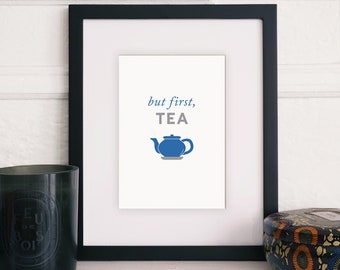 but first, tea - INSTANT JPEG DOWNLOADS!