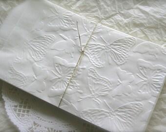 25 Glassine Favor Bags, Butterflies Favor Bags