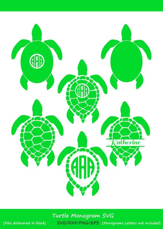 sea turtle monogram svg sea turtle svg sea turtle monogram