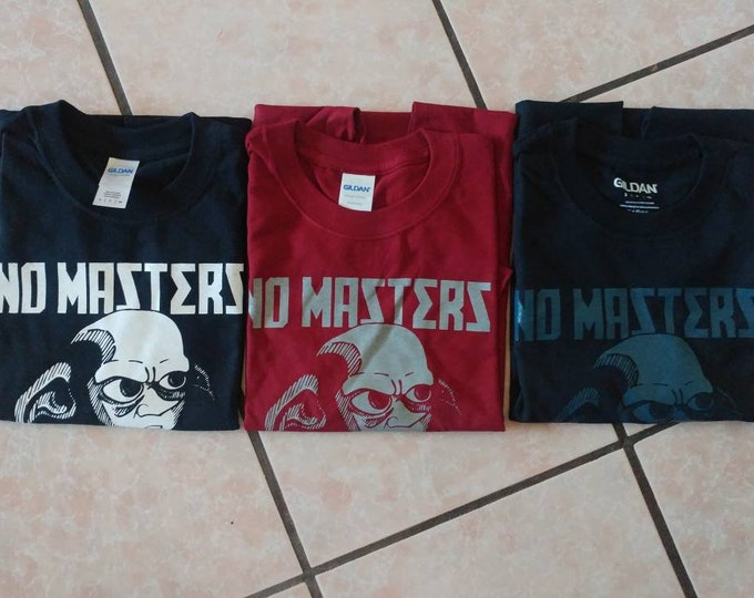 Featured listing image: No Masters ( Harry Potter House Elf Rebellion ) T-Shirts 3 styles