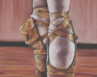 Dancer, Dancing, Passion, Traditional art, Illustration, MaryAliceArt, MaryAlicesGallery