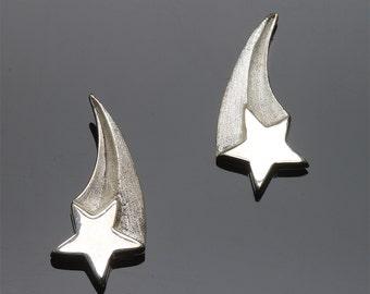 Sterling Silver Shooting Star Earrings by Cavallo Fine Jewelry