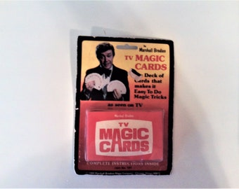 Marshall Brodien TV Magic Cards NIP From the 80's BL 1142
