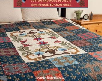 Country Elegance - Cotton and Wool Quilt Projects Book