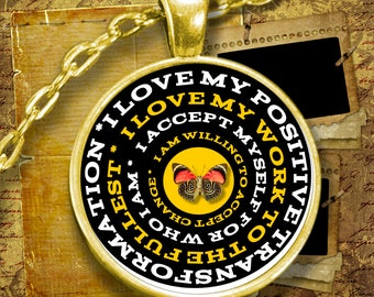 Custom I Love Myself Affirmation Necklace