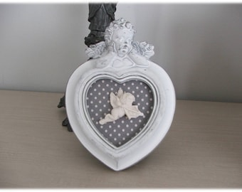 Small romantic frame with Cherub plaster scented